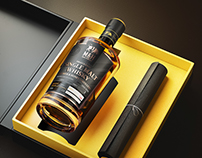 M&H Whisky - Full CGI Shots Visualization