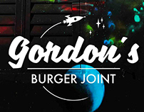 Brand Id. by PHS / GORDON´S BURGER JOINT