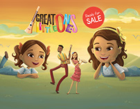 GREAT LITTLE ONES - 2D Animation, Musical series