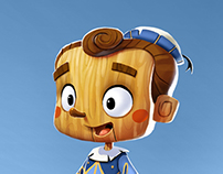 Pinocchio - Character Design