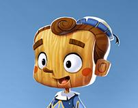 Pinocchio - Character Design