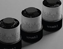 TicWatch - Smartwatch Display