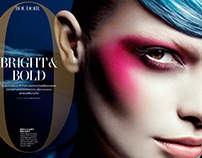 Paulina Panas / L'Officiel / Bright and Bold