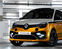 TWINGO_R.S. // front theme researches