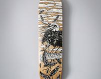 Skate Art - Crow