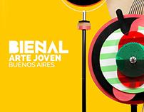 Bienal de Arte Joven. Campaña.