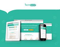 instashop website