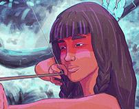 icamiaba - amazon warrior | commission