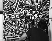 Mural - Estúdio Gasparian / SP