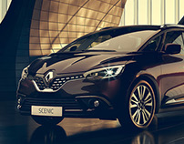 Renault Scenic Animation and Still