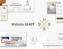 M989 Website UI Kit