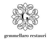 gemmellaro restauri / studio for logo