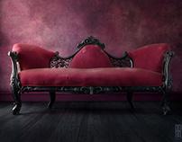Neoclassical Sofa