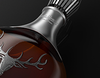 3D Bottle Dalmore Aged 40 Years