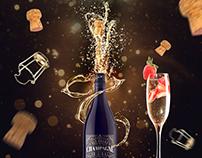 Champagne Original Label-Packaging-Brand Design