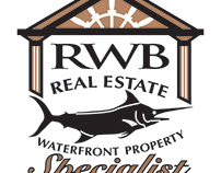 Logo design for waterfront real estate company