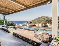 panoramic retreat on Cala Gadir in Pantelleria
