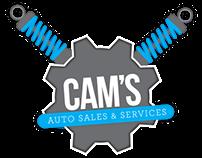 CAM's Auto Sales & Services Identity