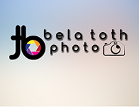 Bela Toth Photo logo design