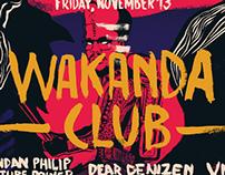 Wakanda Club Poster