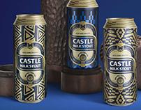 Castle Milk Stout - Clan Can Design