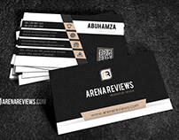 Free Creative Modern Black Pattern Business Card