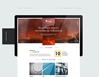 Web Design for Alumax