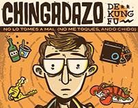 "Chingadazo de kung fu - 7"" Artwork"