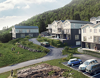 Residential complex in Norway.