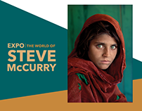 EXHIBITION S. MCCURRY WORLD | Communication material