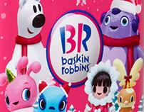 BASKIN ROBBINS KOREA Character Design (2014)