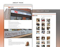 Website Redesign: Mastro Kitchen Studio