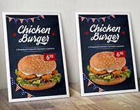 Poster American Burger