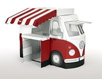 Kampini - cardboard VW Bus