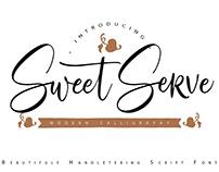 Sweet Serve Script Font