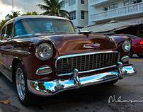 Miami Beach classic cars