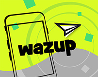 Wazzup / App - Find & Talk Easy!