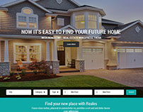 Real Estate Concept Homepage