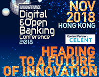 Digital & Open Banking Conference 2018 Banners