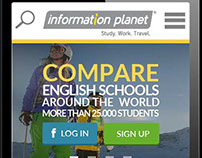 Information Planet web page