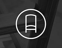 Logo for Scanddyy. high-quality designer furniture