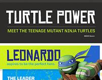 TNMT - Turtle Power Infographic
