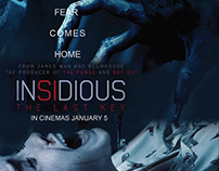 My new poster design- Insidious the last key