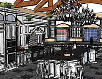 Grand Kitchen Design