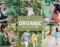 Free Organic Mobile & Desktop Lightroom Presets