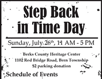 Newspaper Advertisement for Local Event