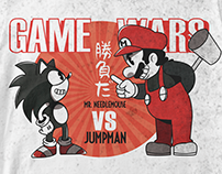 GAME WARS | T-shirt Design