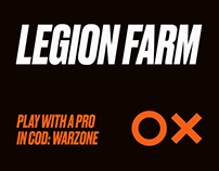 Legion Farm: Landing page & Identity