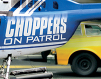 Choppers Campaign Presskit and Bus Wrap