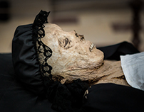 EXHUMATION OF MUMMY